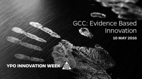 GCC: Evidence Based Innovation