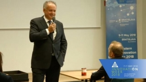 Livestream Keynote with The President of Slovakia Andrej Kiska