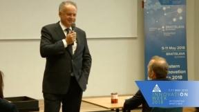 Livestream Keynote with The President of Slovakia Andrej Kiska